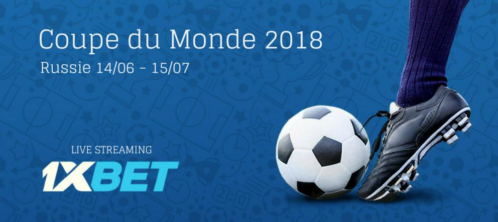 Coupe du Monde 2018 Live Streaming
