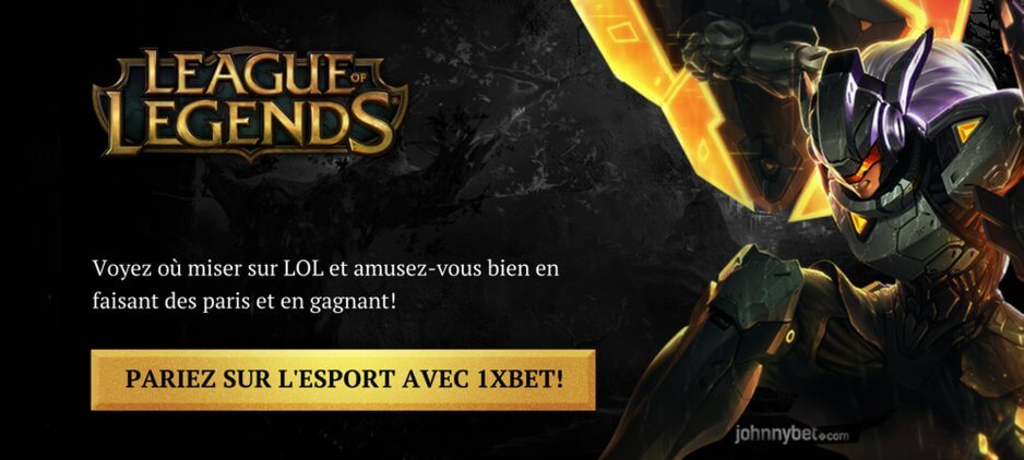 Parier Sur League Of Legends En Ligne