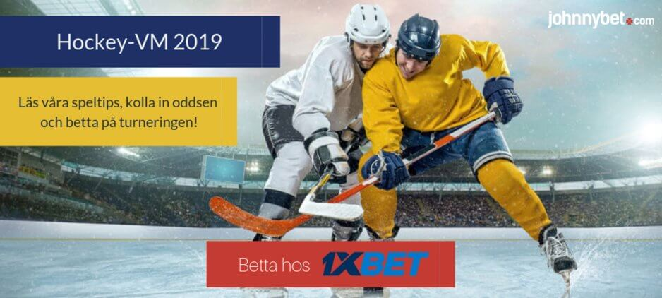 Vm ishockey betting 1xbet