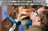 Dog licking face memes