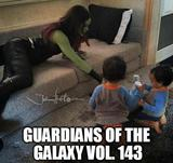 Guardians of the galaxy kids memes