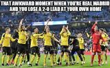 Awkward moment with real madrid memes
