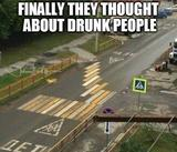 Drunk people road memes