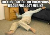 The first half of the champions league memes