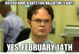 Valentines date funny