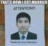 I got married memes