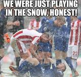 Playing in the snow memes
