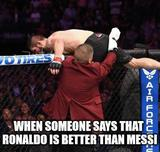 Ronaldo is better than messi memes
