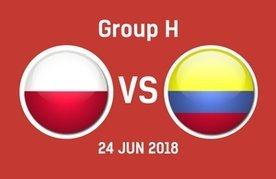 Poland vs Colombia Betting Tips - Predictions & Odds - World Cup 2018