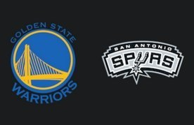 Warriors spurs logo