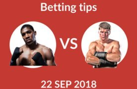 Anthony joshua vs alexander povetkin betting odds