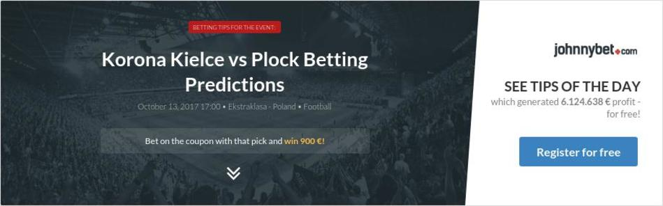 Korona Kielce vs Plock Betting Predictions