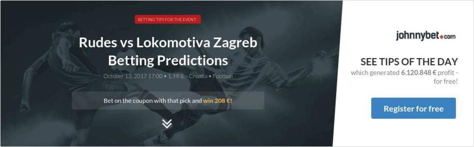 Rudes vs Lokomotiva Zagreb Betting Predictions