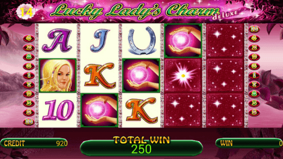 Play Lucky Lady's Charm deluxe Bet 365 online casino game