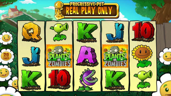 Plants vs. Zombies Slot Machine - Play Online for Free Money