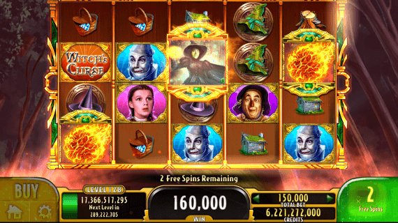 Free Wizard Of Oz Slot Machine Games