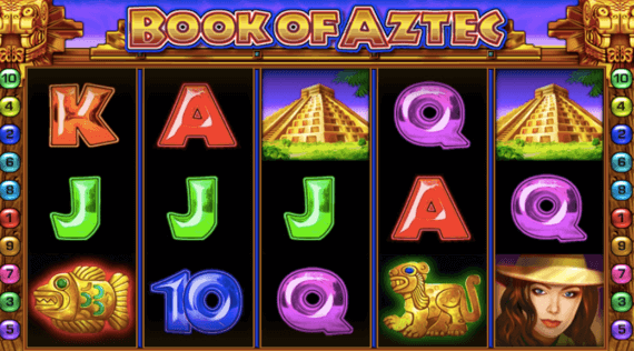 Book of Aztec online Casino