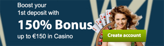 VIP Spel welcome bonus