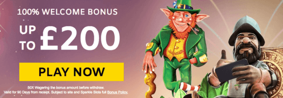 Sparkle Slots Casino Welcome promotion