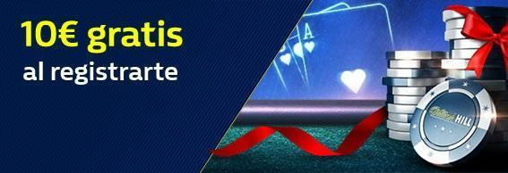 William Hill Casino dinero gratis