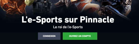 E-sports sur Pinnacle
