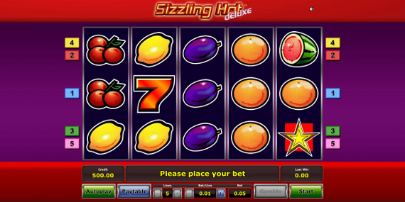sizzling hot deluxe energy casino