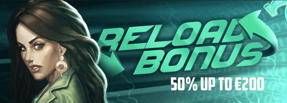 Reload bonus energy casino