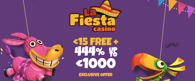La Fiesta Casino exclusive bonus