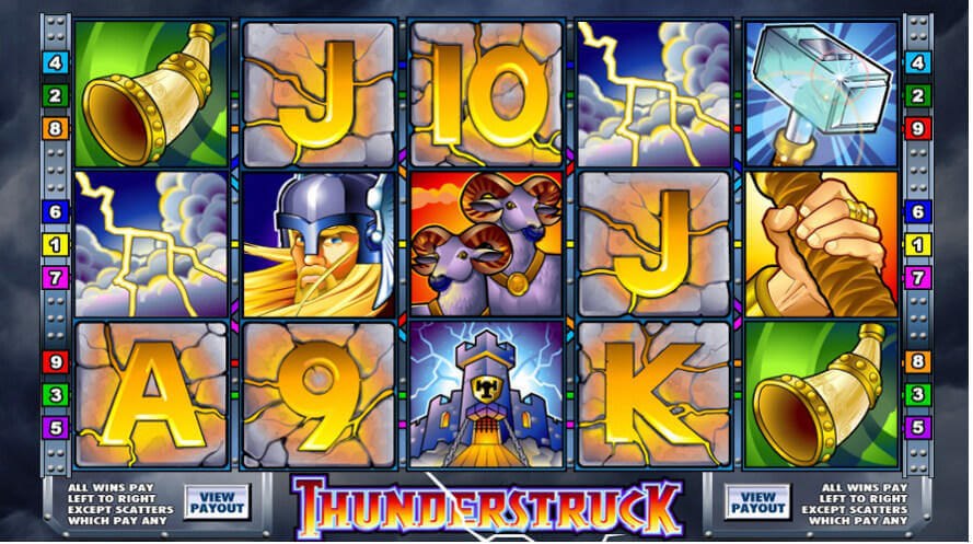Mr Slot Casino Slot Machine Game Thunderstruck